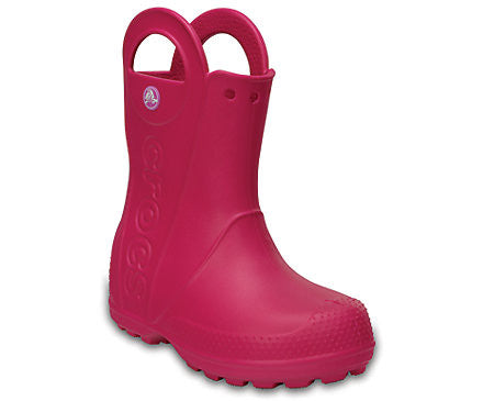 Crocs - Kids' Handle It Rain Boot Candy Pink