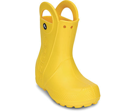 Crocs - Kids' Handle It Rain Boot Yellow