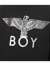 Load image into Gallery viewer, BOY LONDON Eagle-appliqué cotton-jersey sweatshirt
