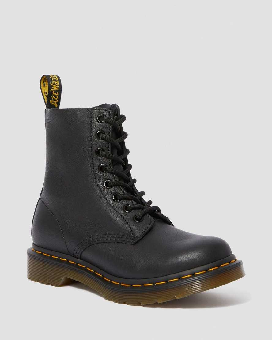 Dr. Martens Womens 1460 Pascal Virginia Leather Boots