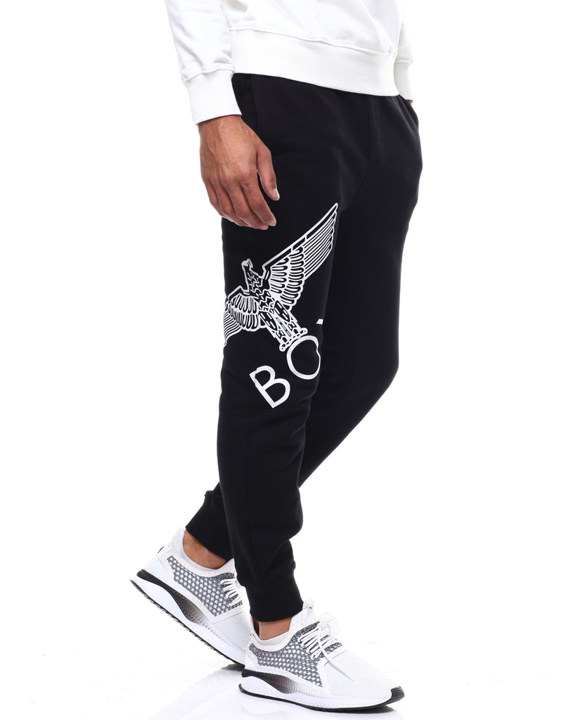 Eagle Artwork Cross Printed Jogger by BOY LONDON