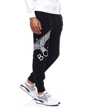 Load image into Gallery viewer, Eagle Artwork Cross Printed Jogger by BOY LONDON