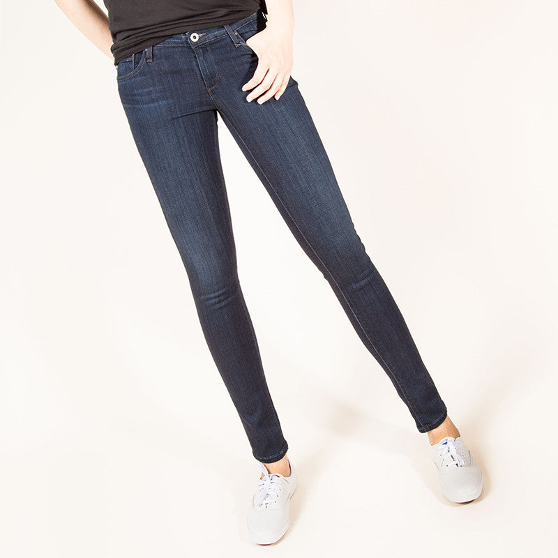 AG Jeans - The Legging Ankle in Coal Grey