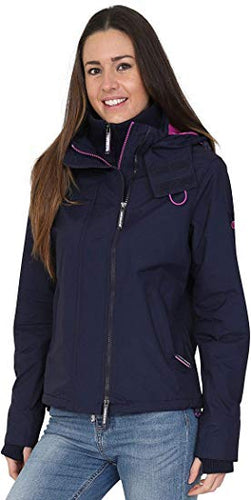 Superdry Womens Pop Zip Hooded Arctic Windcheater