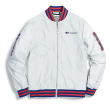 Load image into Gallery viewer, Champion Life® Men's Baseball Jacket, Multi C Logo Patches