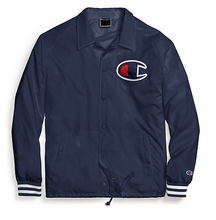 Load image into Gallery viewer, Champion Life® Men's Satin Coaches Jacket, Big C Logo