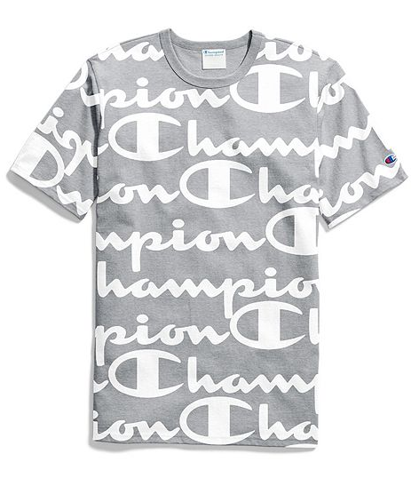 Champion Life® Tee, All-Over Script Logo