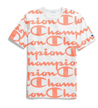 Load image into Gallery viewer, Champion Life® Tee, All-Over Script Logo