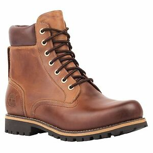 Timberland Rugged Waterproof 6IN Red Brown