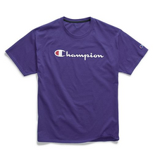 Load image into Gallery viewer, Champion Graphic Jersey Tee, Script Logo