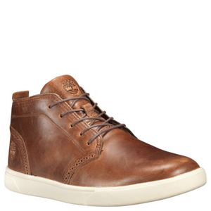 MEN'S GROVETON LEATHER CHUKKA SHOES