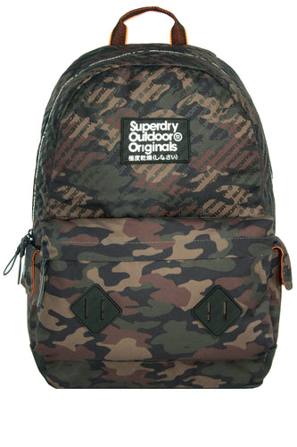 Superdry Camo Hamilton Montana Backpack