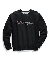 Load image into Gallery viewer, Champion Chain Stitch Script Crew-Neck Sweatshirt