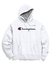 Load image into Gallery viewer, Champion Unisex Powerblend® Pullover Hoodie Script Logo