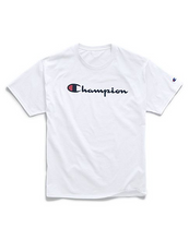 Load image into Gallery viewer, Champion Unisex Graphic Jersey Tee, Script Logo