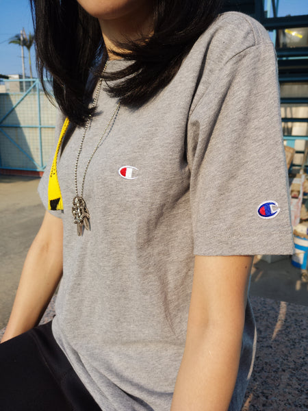 Champion Embroidered Chest Logo Tee