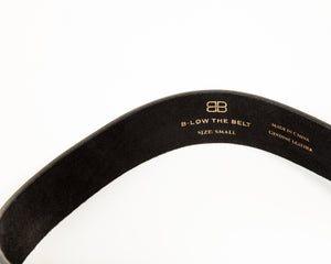 B-LOW - Bri-Bri Belt in Black & Gold