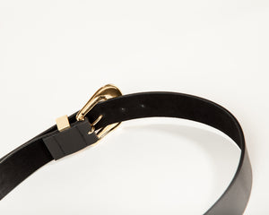 B-LOW - Frank Belt in Black & Gold