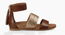 Load image into Gallery viewer, Kids Matabele Metallic Sandal