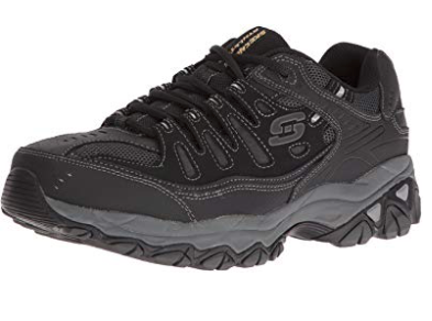 Skechers Afterburn Memory-Foam Lace-up Sneaker