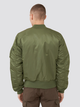 Load image into Gallery viewer, Alpha Industries Slim Fit Bomber Jacket Sage Green