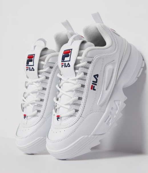 FILA Women's Disruptor 2 3D Embroidery