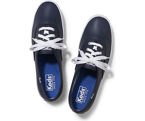 Keds - CHAMPION ORIGINALS LEATHER NAVY