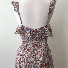 Load image into Gallery viewer, Floral Print Ruffle Dress