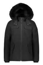 Load image into Gallery viewer, Lingan Jacket - Black/Black Fox Fur