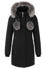 Load image into Gallery viewer, Stirling Parka - Black/Forst Fox Fur