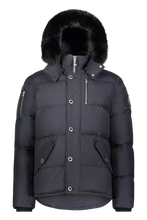 Load image into Gallery viewer, 3Q Jacket - Navy/Black Fox Fur