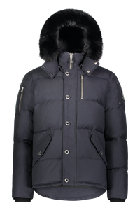 3Q Jacket - Navy/Black Fox Fur