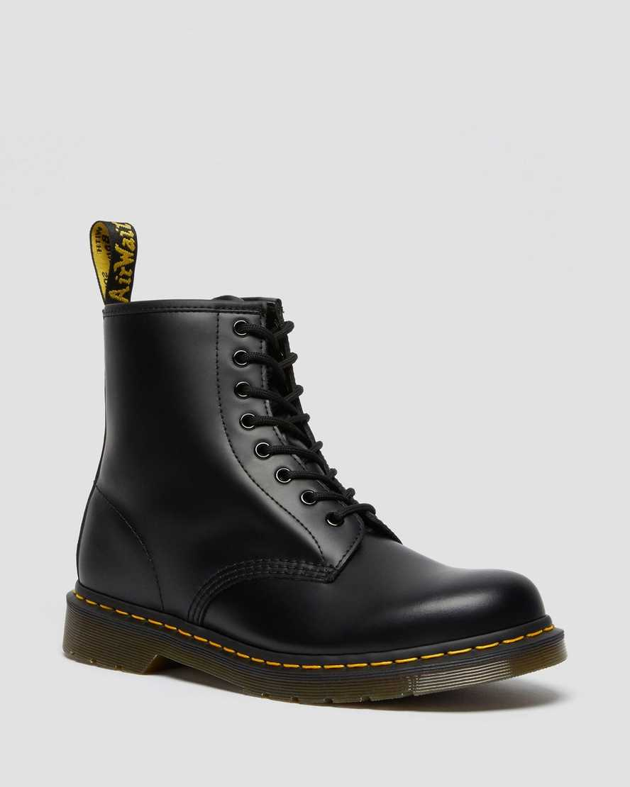 Dr. Martens Unisex 1460 Smooth Leather Lace Up Boots