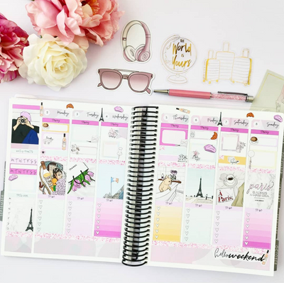 How I Use My Erin Condren Planner?