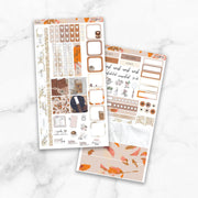 AMBER Hobonichi Weekly Size Planner Sticker Kit-The GP Studio