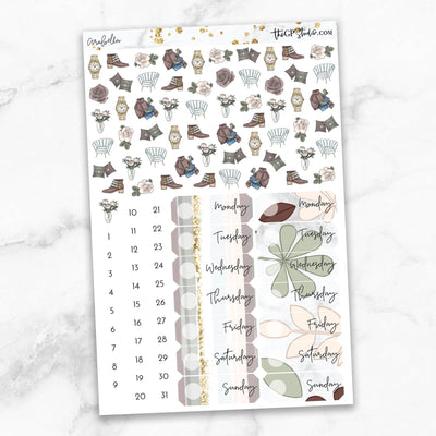 ARABELLA Deco & Date Cover Stickers-The GP Studio