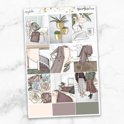 ARABELLA Full Boxes Planner Stickers-The GP Studio