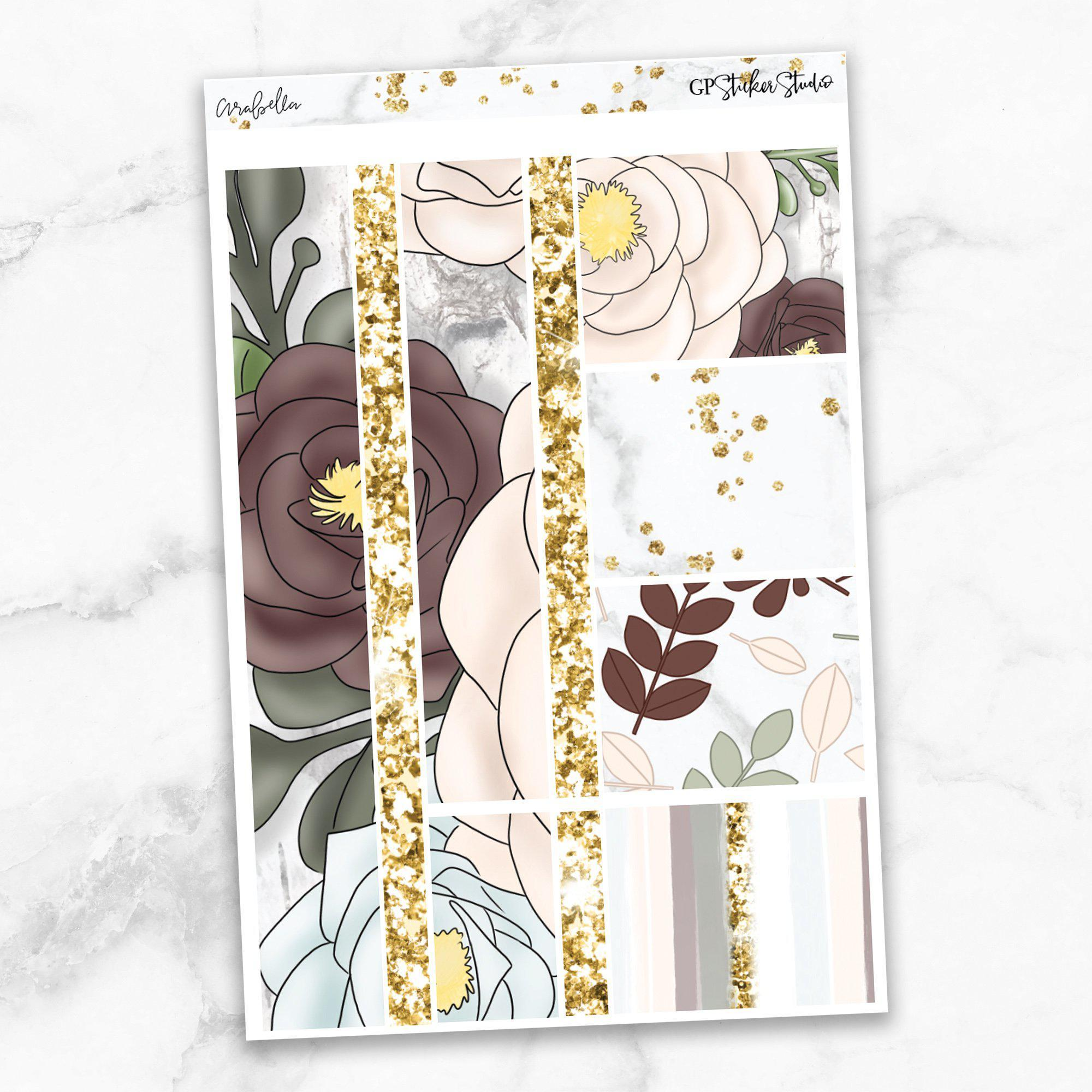 ARABELLA Washi Sheet Stickers-The GP Studio
