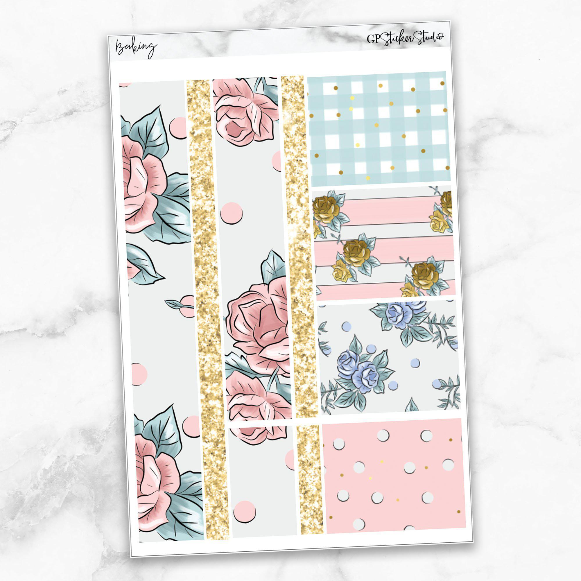 BAKING Washi Sheet Stickers-The GP Studio