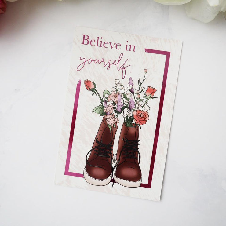 BELIEVE IN YOURSELF JOURNAL CARD-The GP Studio