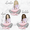 BINGE WATCH GP Girl Planner Stickers-The GP Studio