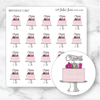 BIRTHDAY CAKE Icon Planner Stickers-The GP Studio