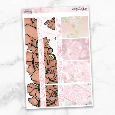 BLOOMING Washi Sheet Stickers-The GP Studio