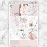 BLUSH CRUSH Planner Sticker Kit-The GP Studio