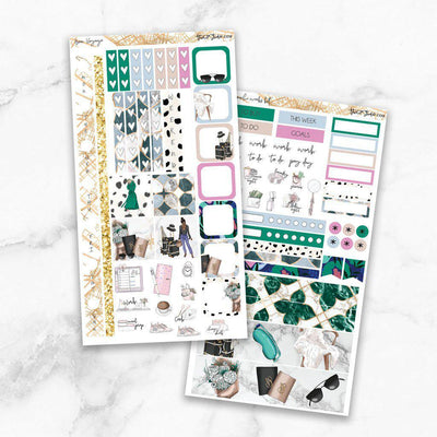BON VOYAGE Hobonichi Weekly Size Planner Sticker Kit-The GP Studio