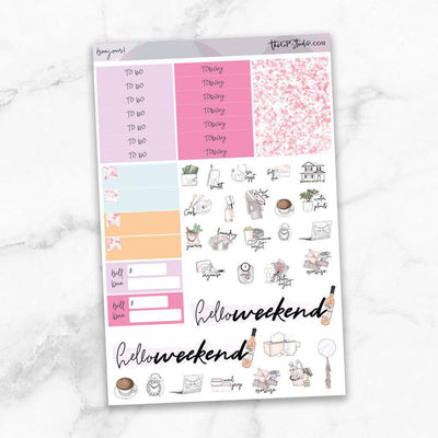 BONJOUR Functional Planner Sticker Kit-The GP Studio