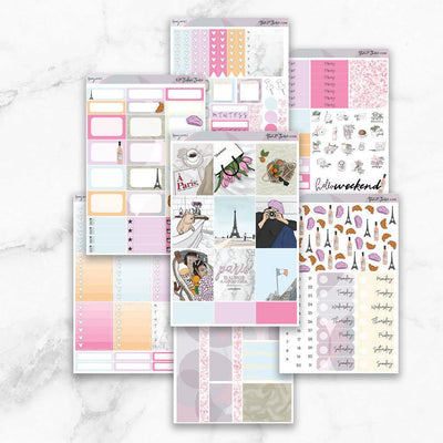 BONJOUR Planner Sticker Kit-The GP Studio