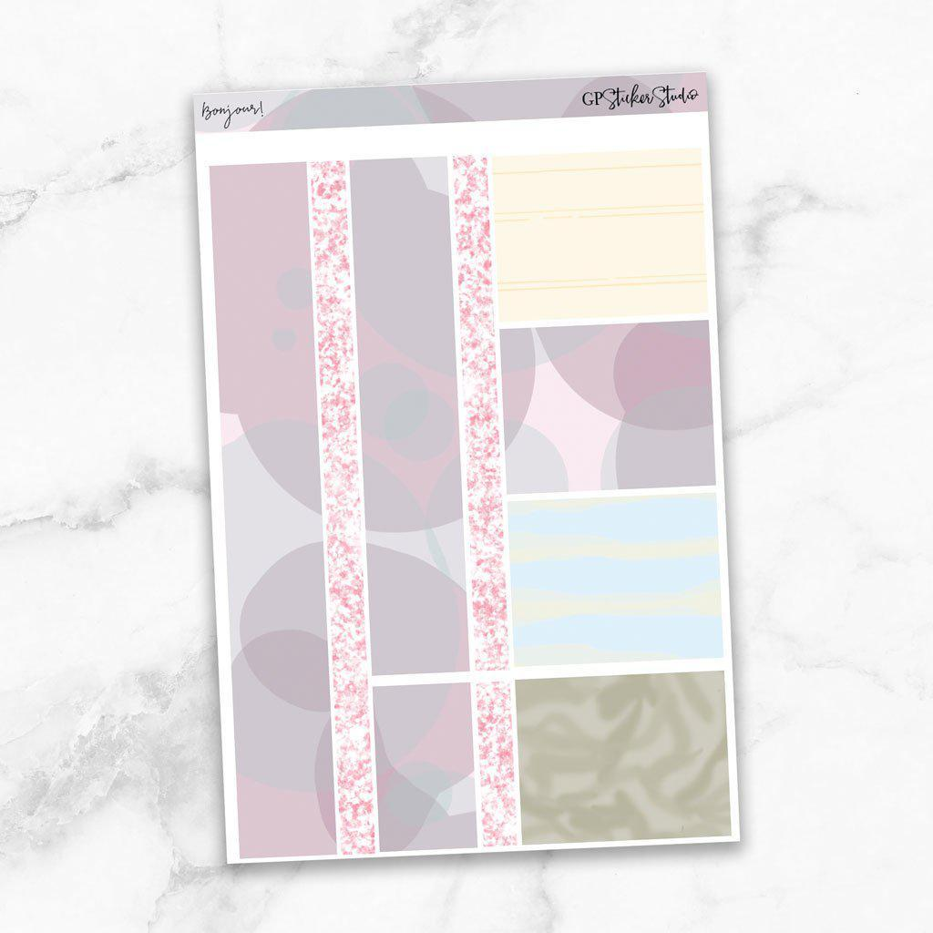 BONJOUR Washi Sheet Stickers-The GP Studio