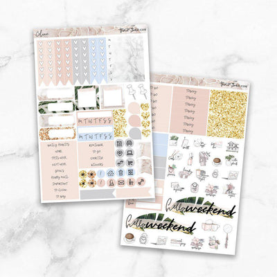 CELINE Functional Planner Sticker Kit-The GP Studio