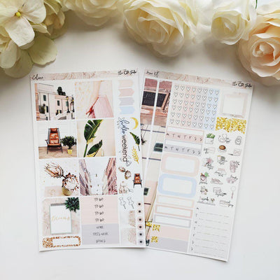 CELINE Mini Size Planner Sticker Kit-The GP Studio